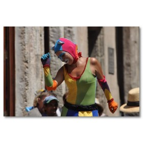 Αφίσα (Κούβα, παρέλαση, καρναβάλι, άνθρωποι)